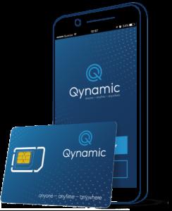 Qynamic Wordwide mobile internet, best roaming SIM card